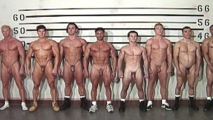 PRETTY BOYS IN PRISON- Ace Hanson & Naked Hunks in Trouble